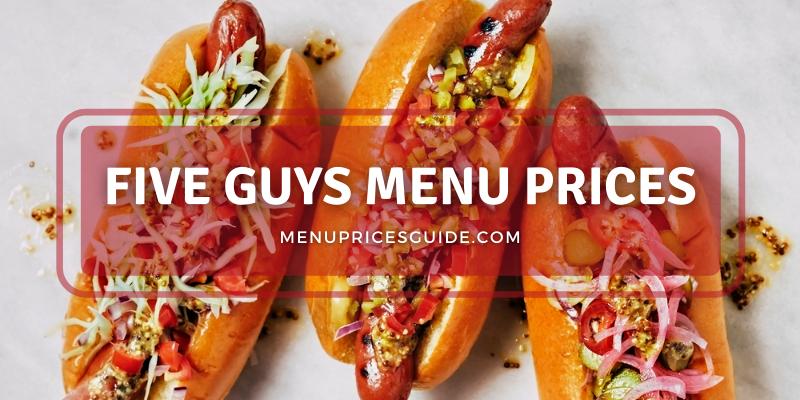 five guys menu