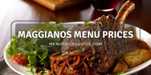maggianos menu