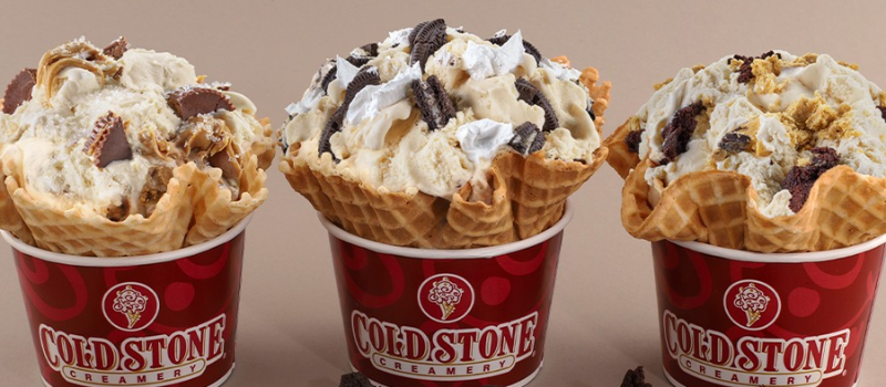 Cold-Stone creamery menu prices