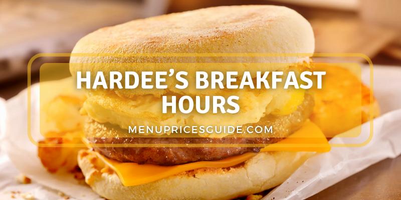 Hardee's Breakfast