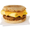 chick fil a breakfast Bacon, egg, and cheese muffin